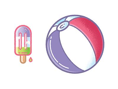 Summer hire design icon character freelance london enisaurus vector illustration