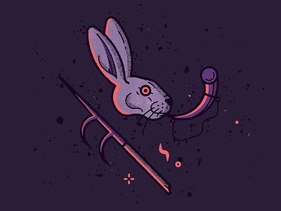 Follow the white rabbit textures hell bosch pattern rabbit