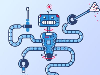 Robot Housekeeper cyborg future technology housekeeper robot