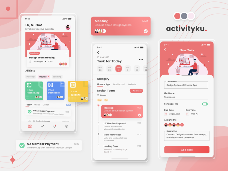 Task Management for All mobile app design mobile design task manager management app ios app design task list task management todolist exploration mobile app uiux uidesign