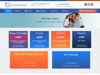 Dental Website