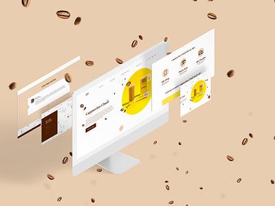 ARCHCAFE - Coffee brand Website redesign web ui