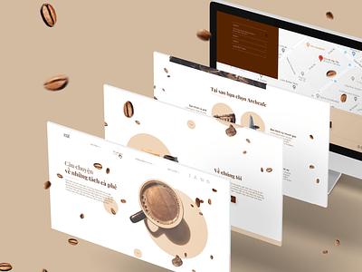 Archcafe Redesign redesign design web ui