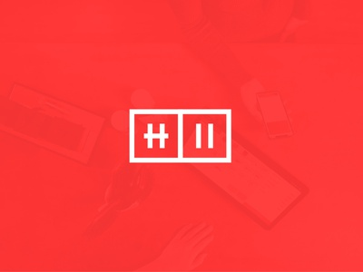 Htwo.io progress logo identity work branding