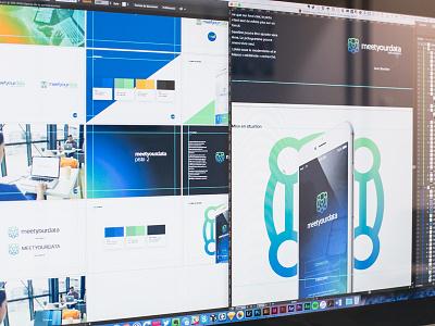 Meet Your Data progress in work identity branding