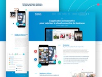 Mushin App - Website Design