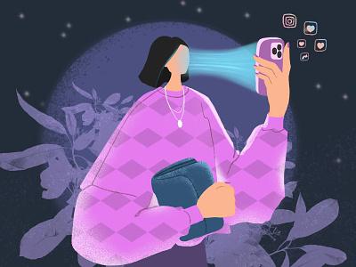 Dementor 😄 social media concept design design concept art illustration