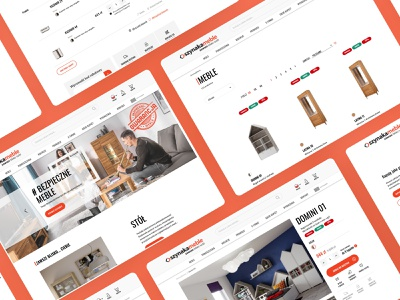 Szynaka - eCommerce design and implementation modern website design website figmadesign ux ui shopware magento clean design ecommerce