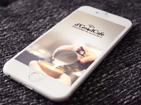 Coffee Shop App UI