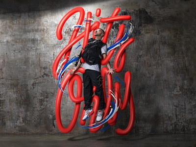 Adidas x Charlie Chales sneakers adidas calligraphy typo typography illustration lettering