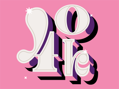 40K x Lobsterstudio.tv lobsterstudio lobstertv 40k animation type design vector typo typography illustration lettering