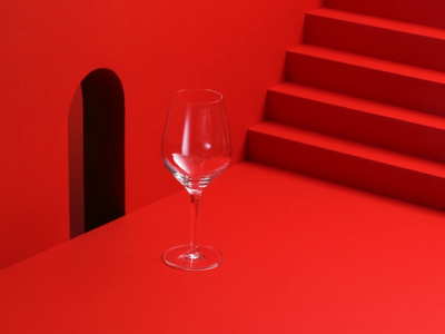 PASSIONESENTIMENTO Red Wine setdesign papercraft paper art hands red wine wine spot commercial