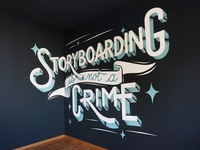 Storyboarding is not a crime