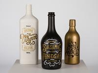 Lettering bottles