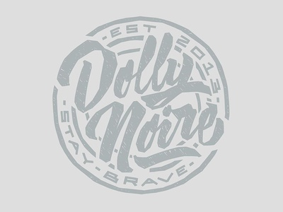 Dolly Noire lettering