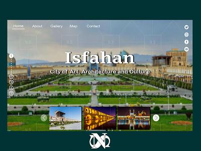 design - Isfahan ux mydesign website design webdesign ui photoshop adobe photoshop design
