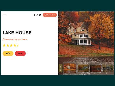 Real Estate Web Design Concept uidesigner figma figmadesign uiux uxdesign uidesign website design webdesign ux ui