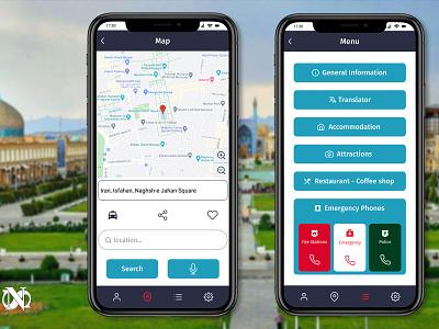 Tourism App Design app website design uidesigner uidesign figmadesign figma design webdesign ux ui