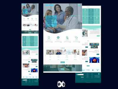 Clinic Web Design clinic figmadesign uidesigner uidesign website design webdesign ux ui