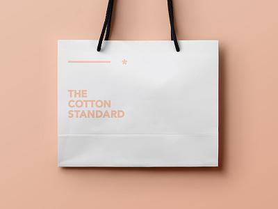Gift Bag typography logo identity print fashion