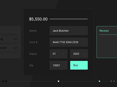 Daily UI #2 dailyui ux ui modal form checkout