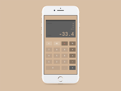 Daily UI #4 calculator digital product interface ui dailyui