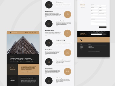 Security Brand & Marketing web design layout digital product type interface ux ui