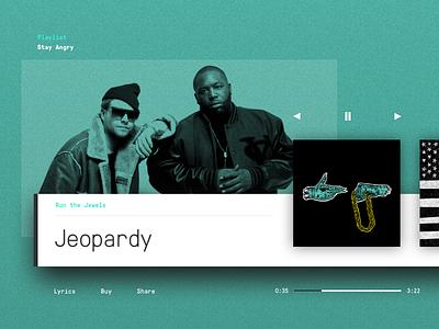 Daily UI #9 player music digital product interface ui dailyui