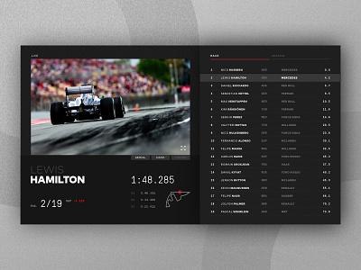 F1 Smart TV App tv app racing f1 product interface ui dailyui