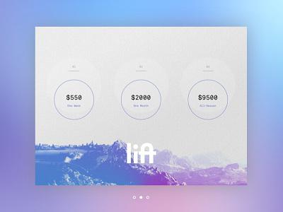 Lift Pass Pricing ux pricing ski digital product interface ui dailyui