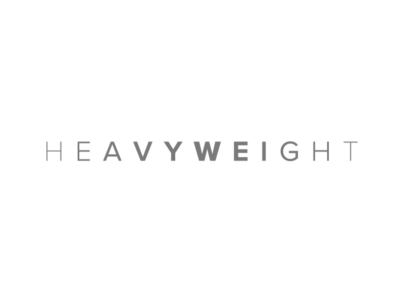 Heavyweight bold wordmark typography type heavyweight weight heavy