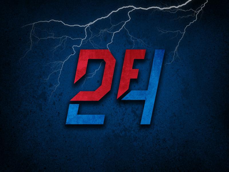 DF #24 (Update) logo sports baseball fowler dexter cubs chicago 24 df