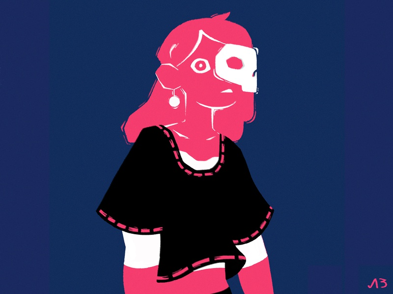 shadow ilustration art illustrations girl illustration