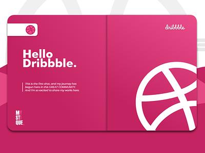 Hello dribbble..! alanmystique alanmystique mystique alan minimal app web vector branding ui design