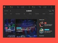 eSports News Portal