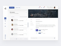 Messages page