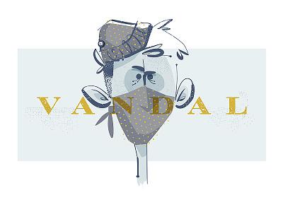 Vandal vandal illustration sockmonkee