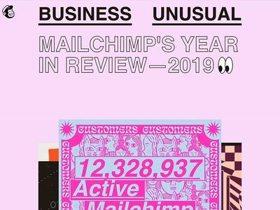 Business Unusual: MailChimp's Annual Report 2019