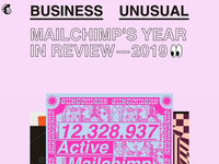 Business Unusual: MailChimp's Annual Report 2019