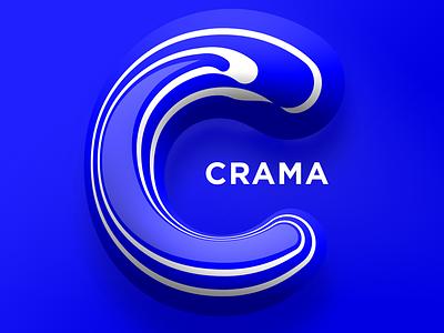 Crama logo letter symbol