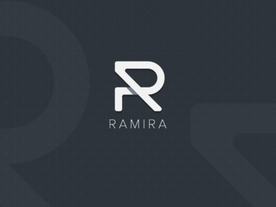 Ramira Logo r logo letter symbol
