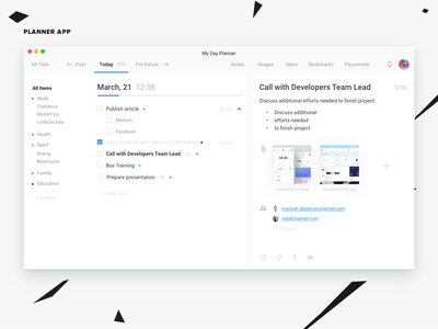 Workday Planner App plan application interface web