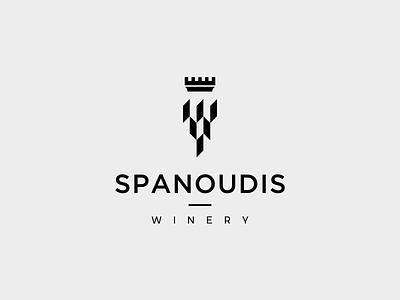 Spanoudis Winery logo design vino greeece greeece grapefruit grape wine label wine winery brand icon cursordesignstudio vector typography graphicdesign illustration logo design cursordesign