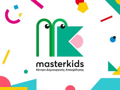 masterkids logo by Cursor Design Studio playful logo kids illustration learn play colors playful kids identity graphic icon cursordesignstudio graphicdesign illustration logo design cursordesign