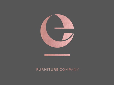 Eleftheroglou furniture company logo logotype identitydesign visual design cursordesignstudio monogram logo furniture monogram branding graphic brand icon graphicdesign logo design cursordesign
