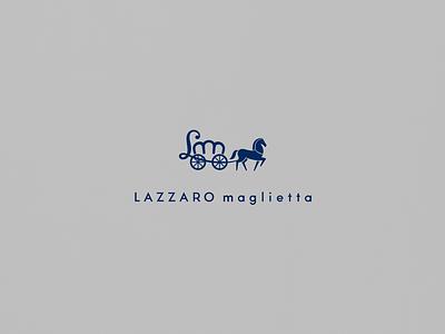 LAZZARO maglietta pantone graphicdesign identity typography t-shirt brand fashion horse cursordesign design logo