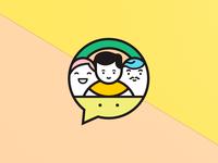 speech therapist logo
