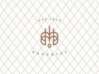 Mousiou bakeries logo design