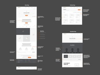 Hold It Wireframe Annotations