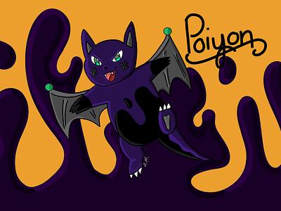 Pokemon Fan Art - Poiyon! pokemon pokemon inspired pokemon fan art digital painting adobe photoshop illustration art